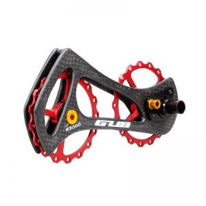 17T CARBON CAERAMIC ROAD REAR DERAILLEUR OVERSIZED PULLEY WHEEL SYSTEMS BEARING ULTEGRA DURA ACE
