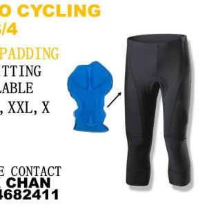 Realtoo Cycling 3/4 Pants (Gel Padding)