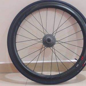 2017 zipp 303 firecrest clincher carbon wheelset 45mm high profile free specialized turbo 26c tires