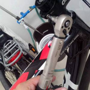 2019 BIKE HAND BICYCLE TORQUE WRENCH With Meter