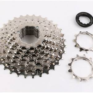 T-DIAMOND 7 / 8 SPEED MTB CASSETTE 11-28T (FREE POS)