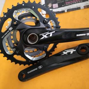 Shimano Deore xt crankset tripple - bramd new from new bike upgraded to eagle, letting go cheap