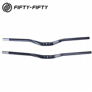 Fifty-Fifty Handlebar Black 780mm Length 31.8 diameter - 20 Rise & 35 Rise