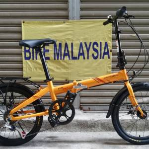 "CROSSMAC ALLOY 20"" SHIMANO GEAR FOLDING BIKE"