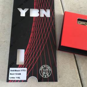YBN SLA110 11speed Chain - Super Light/Smooth - Gold/Black -- free courier