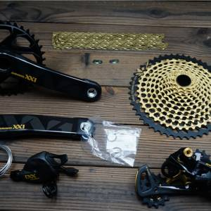 SRAM XX1 EAGLE GOLD 12S Speed 32T 170mm GXP 10-50T MTB Groupset