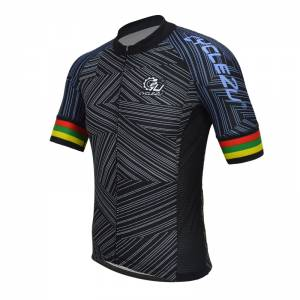 PROFESSIONAL MAN'S SHORTS SLEEVE CYCLING JERSEY