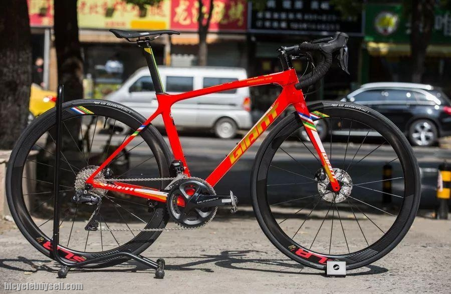 33f416bc670 Special Edition-2019 GIANT TCR Advanced Pro Disc SICHUAN-TIBET EDITION