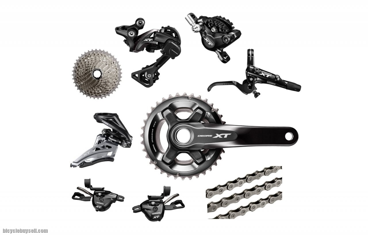 ce6813130d0 Groupset XT M8000 (2x11) with brake n rotor(- 2019 Promotion !!!-)
