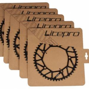 Litepro Chainring130bcd CNC lightweight 50t 52t 54t 56t 58t narrow wide
