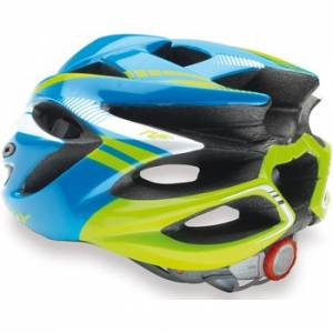Rudy Project Rush Helmet Blue/Lime Fluo