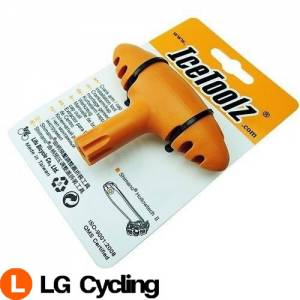 IceToolz 04T1 Crank Arm/Cap Installation Bike Bicycle Tool for Shimano