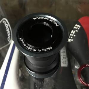 Token BB386 Convert SRAM Crank 22-24mm Spindle / Taiwan (free pos w.m)