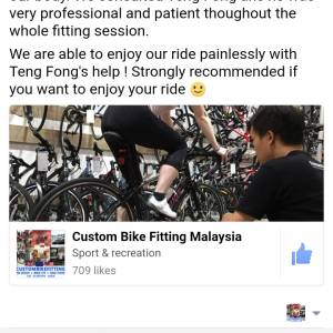 CUSTOMBIKEFITTING UK STAGE 3: FULLY BALANCED BODY+BIKE FIT RM290 -UNDER 18'S RM190 -SUPERBASIC RM100
