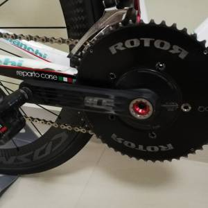 Campagnolo with Rotor Aero Chainring 3D+