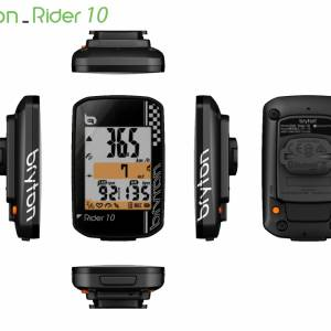 Bryton rider 10 10c with cadence 10e heart rate