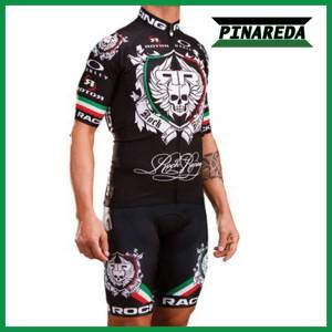 2018 ROCK RACING BLACK ITALY Jersey Set