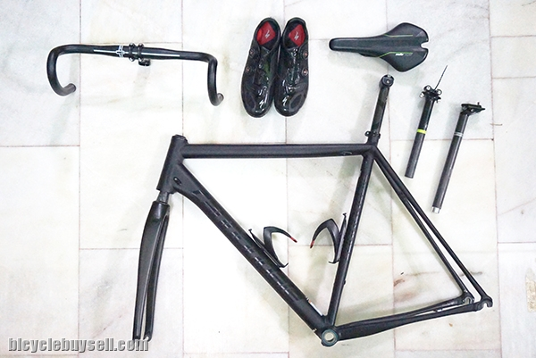 Cannondale Caad10 and Specialized Sworks 5 Shoes