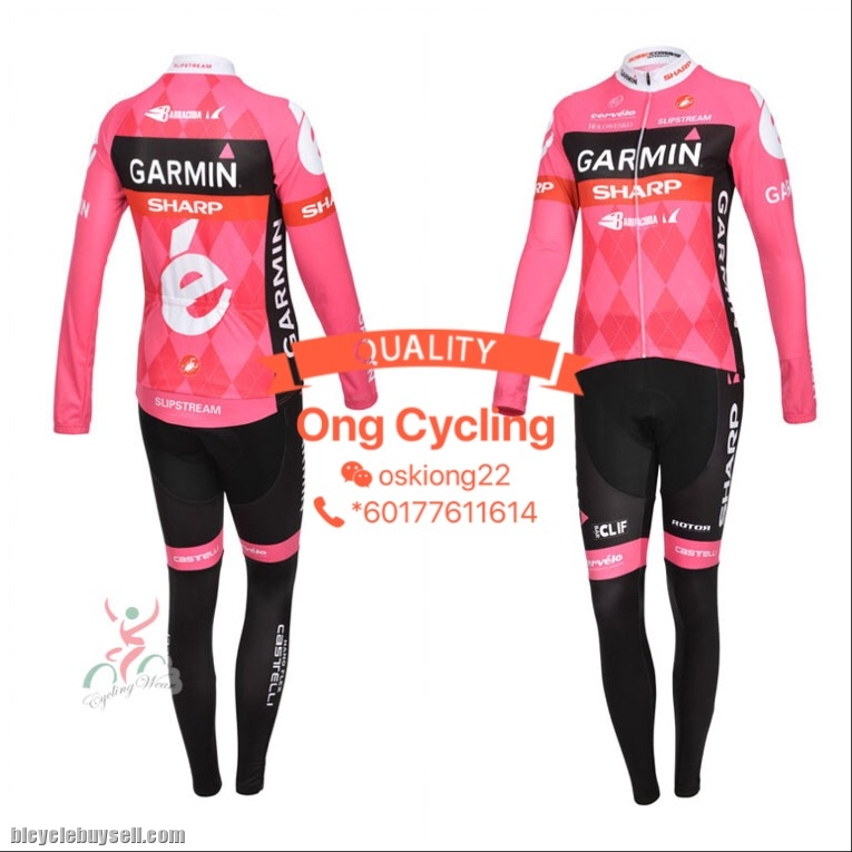 Long Cannondale 9 - Garmin Cycling Jersey f6d3842d2