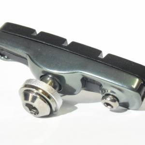 NEW HC Road Brake Shoes with Holder (2 Pairs) - Custom Colors to Personalize your Bike