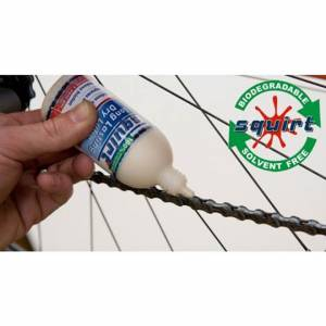 SQUIRT CHAIN LUBE 120ml (DRY AND WET LUBE) BEST CHAIN LUBE
