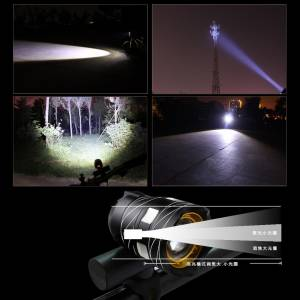 C1000 XML-T6 LED HEADLIGHT USB Rechargeable SUPER BRIGHT