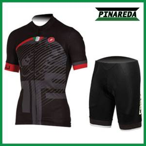 2018 CASTELLI SCORPION BLACK Jersey Set
