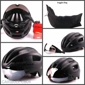Cairbull Cycling Helmet with Adjustable Visor (CB04) (Brand New) *Ready Stock !