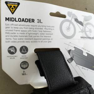 Topeak MidLoader 3L Center Bag - Taiwan — free courier