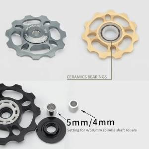 TWOOC CNC 11T PULLEY CERAMICS BEARINGS