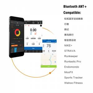MAGENE MOVER  Dual Mode ANT + & Bluetooth 4.0 Heart Rate Sensor