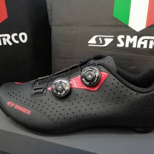 New Arrival SMARCO RB CYCLING SHOES BLACK RED