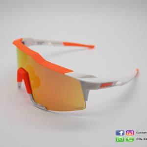 100% Speedcraft Day Grow Orange / Hiper Red Mirror Lens