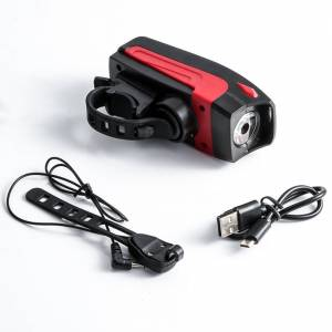 LIGHT HORN 2 IN 1 CREE T6 HEADLIGHT + ELECTRIC HORN