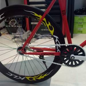 KLC Fixie bike Single Gear 700cc Speed Bike