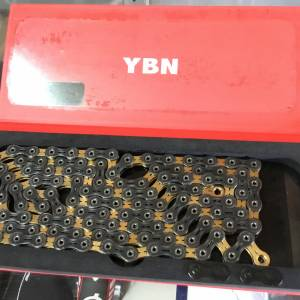 YBN SLA110 11speed Chain / Black/Gold Limited Color (free pos w.m)