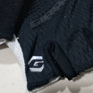 2018 Premium Series - black cycling gloves- half Finger G1020 Series M size only