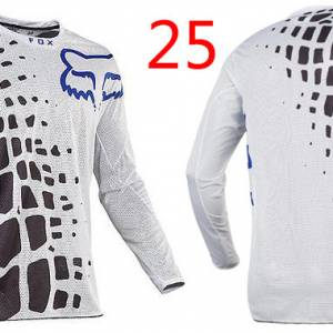 fox racing jersey cycling for downhill MTB XC enduro with cool tech fabric