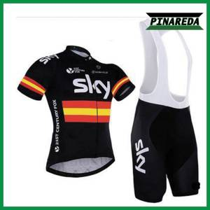 SKY CENTURY FOX SPAIN CHAMPION Jersey With Bib