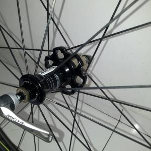 Used MICHE Full Carbon SWR Tubular Wheelset