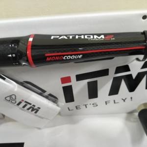 ITM Pathom2 380mm aero full carbon - jus used one ride, selling due to wrong size