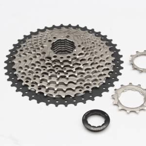 SUNSHINE 10SPEED 11-42T OVERSIZE CASSETTE 511GRAMS (FREE POS)