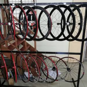 Retrospec Conquer Pro C50 Full Carbon 50mm Clincher High Profile Wheelset