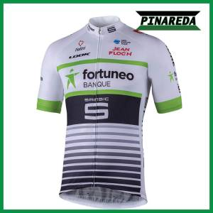 2018 FORTUNEO WHITEGREEN Jersey