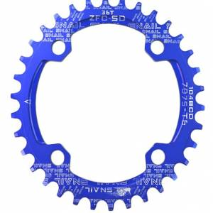 Snail M7000 / M8000 / M9000 Oval / Round Narrow Wide Chainring MTB Alloy
