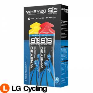 SIS Science In Sport WHEY20 78ML Strawberry/Lemon