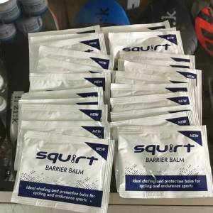 Squirt Barrier Balm 6g Sachet For Long Cycling / South Africa (free pos w.m)