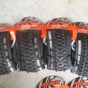 26x2.30 Maxxis DHF Tyre with EXO/Tubeless Ready