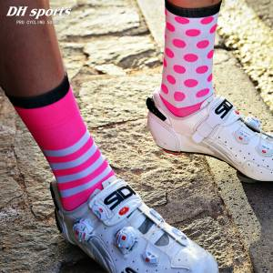 DH SPORTS Polka Dot Pro Cyling OUTDOOR MULTI SPORTS SOCKS