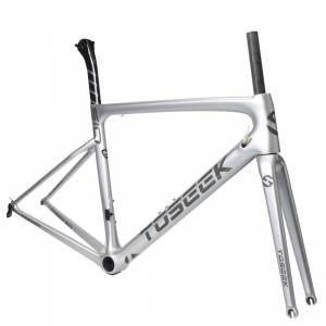 Toseek ultralight road carbon frame 999g 700c